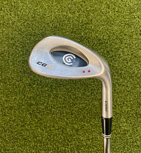 Cleveland CG11 CMM 52* Wedge, RH, True Temper Dynamic Gold Wedge Flex Steel Shaft- Good Condition