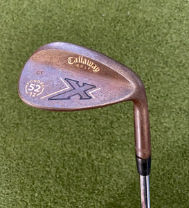 Callaway X Series Vintage Forged 52º/12 Wedge, RH, True Temper Dynamic Gold Wedge Flex Steel Shaft- Good Condition