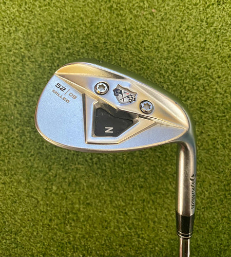 TaylorMade TP Z Milled 52º/09 Wedge, RH, KBS Hi-REV Wedge Flex Steel Shaft- Good Condition
