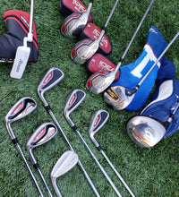 Complete Golf Adams Left Handed Set & Taylormade Putter, great 4 Christmas!