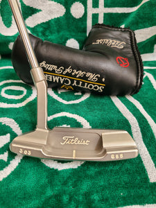 Scotty Cameron Putter Tour Newport II Red Dot 303 GSS  With Art of Putting Circle T headcover!.