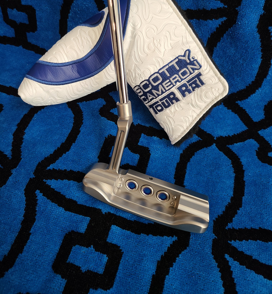 Scotty Cameron Tour Only Grey & Blue Masterful Tour Rat I Circle T 34
