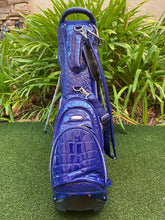 Ouul Alligator Lightweight 5 Way Stand Bag, Royal Blue, Brand New!!!