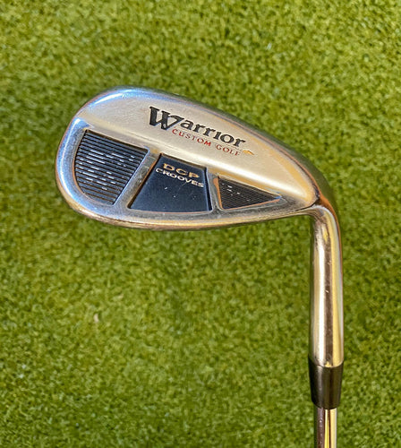 Warrior Custom Golf DCP Grooves 60* Lob Wedge,RH,Warrior Custom Golf Wedge Flex Steel Shaft-Fair Condition