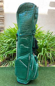 Ouul Alligator Lightweight 5 Way Stand Bag, Hunter Green, Brand New!!!