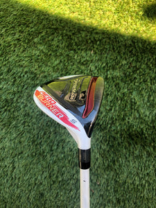 TaylorMade AeroBurner 18* 5 Wood,RH,TaylorMade Matrix Regular Steel Shaft-Fair!