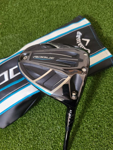 Tour Issue Callaway Rogue 8.5* Driver, RH, Fujikura Atmos 5R Regular Graphite Shaft- Great!