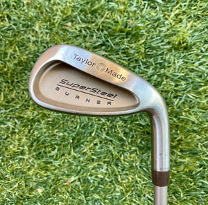 TaylorMade SuperSteel Burner 6 Single Iron, RH, TaylorMade Stock 60-Ladies Flex Graphite Shaft- Very Nice Condition