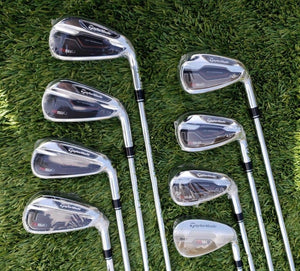 Taylormade RSi 1 Iron Set ,Right Handed,TT Reax 90 Steel, Regular 4-PW+AW, NEW!
