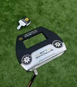 "BRAND NEW TOUR ISSUE ODYSSEY STROKE LAB JAILBIRD""MINI""  PUTTER 34"" ""RARE""!"