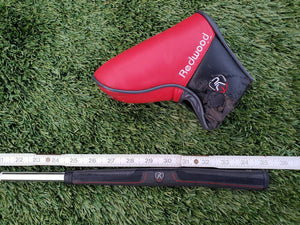 "Ping Redwood Anser Black Satin 35"" All original, with matching Head cover, NICE!"