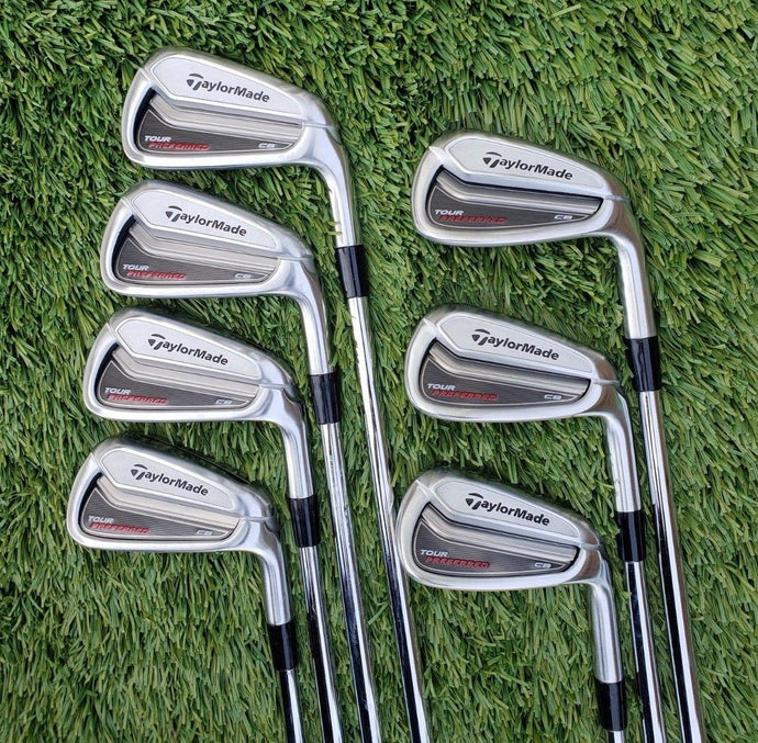 Taylormade Tour Preferred CB iron set 2014, 4-PW, True Temper DG SL, Stiff, Superb!