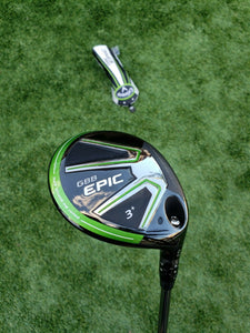 """TC"" TOUR ISSUE CALLAWAY GBB EPIC 13.5* 3 Wood DIAMANA BF 70 TX EXTRA STIFF,NEW!"