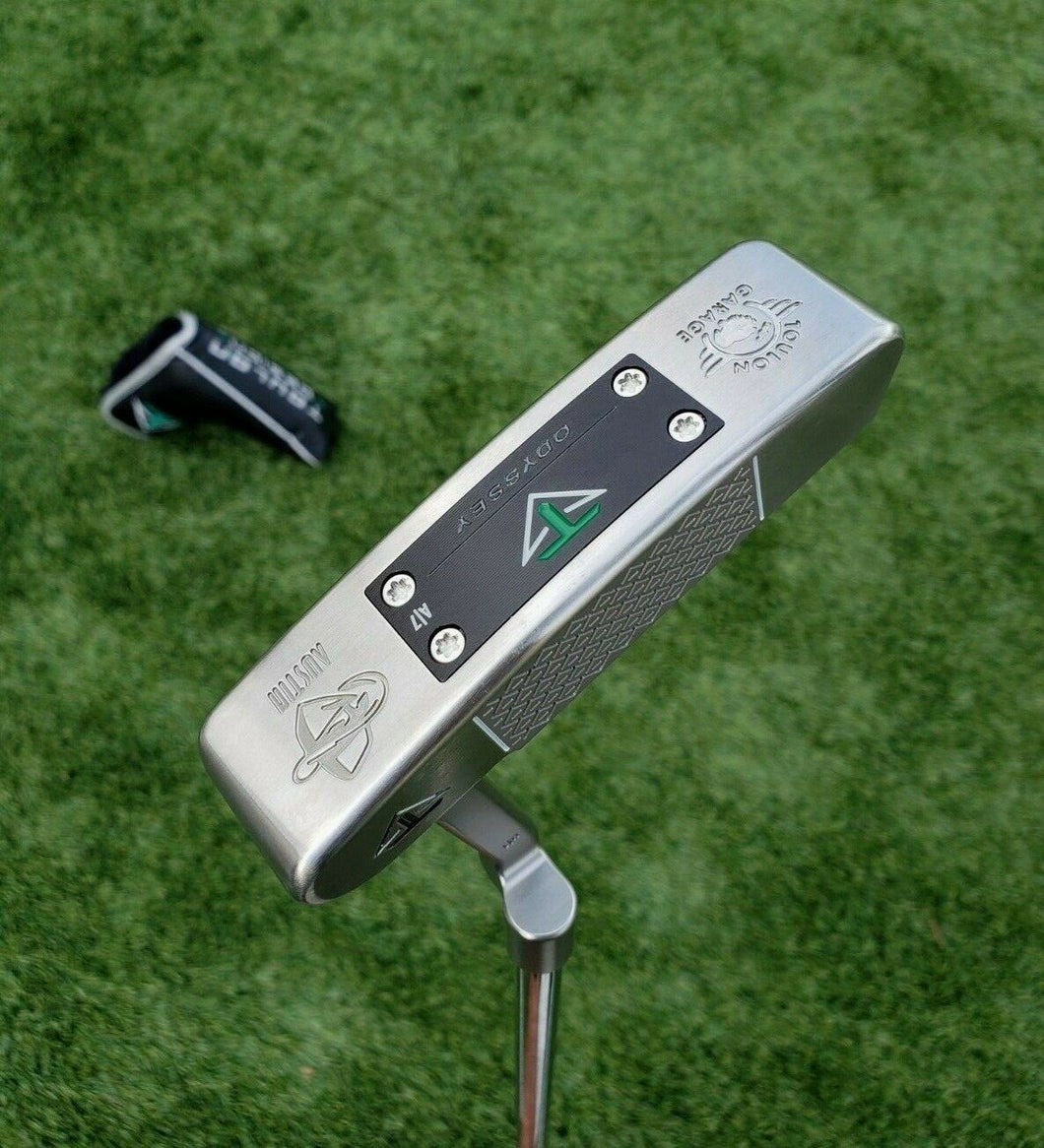 Toulon Odyssey Austin Garage Putter, A/7 weights 35