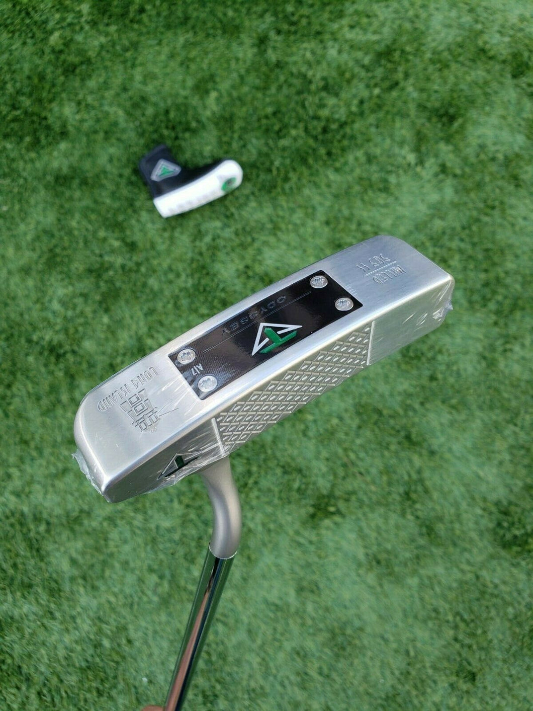 BRAND NEW Toulon Odyssey Long Island Milled 303 SS Putter w. A/7 weights 35