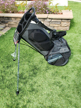 2018 New Callaway Hyper-Lite 3 Dual Strap Stand Bag Gray/Black, No Rain Cover