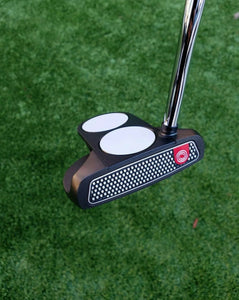"Tour Issue Odyssey O Works Black 2-Ball Putter, RH , 34.5"" Super Stroke+HC- NEW!"
