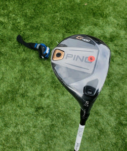 PING G400 5-WOOD 17.5* ALTA CB 65 STIFF GRAPHITE ,NEW IN PLASTIC, G30 HEAD COVER