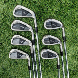 CALLAWAY Legacy Black IRON SET 4-PW, N.S Pro Modus 3 Tour 130 Steel Stiff,JAPAN!
