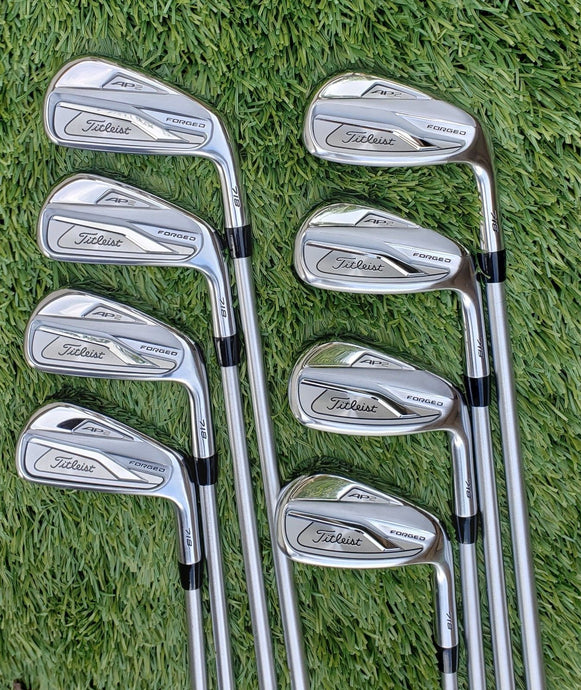 TITLEIST 718 AP2 IRON SET 4-PW,+50° WEDGE,KBS TOUR C-TAPER LITE STIFF,! DEMOS!