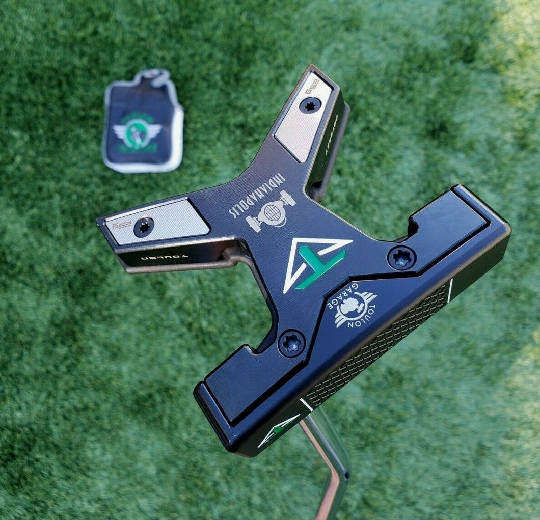 Toulon Odyssey Tour Issue Indianapolis Garage Black Pearl Putter 25 gram w ,35
