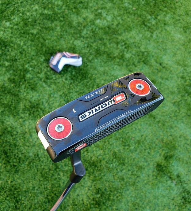 Tour Issue Odyssey O WORKS 1 Tank Black putter ,35