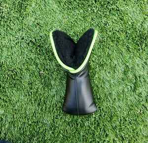 Scotty Cameron 2018 Hot Stamped Crown Pin Flag Black Lime Putter Blade Headcover