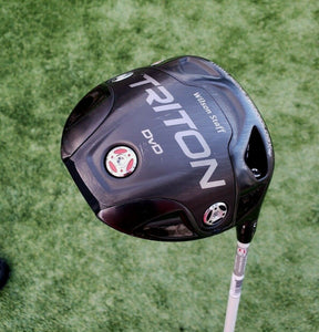 "Wilson Staff TRITON Driver Golf Club USED 10.5 Tour Stiff RH 45.75"" Adjustable"