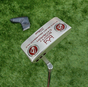 "Scotty Cameron Studio Select Squareback No. 2 34"", Custom Superman 30 g weights!"