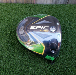 NEW! TOUR ISSUE CALLAWAY EPIC FLASH SUB ZERO 9.0° ◇ ONE DIAMOND DRIVER HEAD ONLY