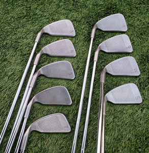 Ping Zing 2 Iron Set 3-SW, Black Dot Steel JZ Stiff Flex RH,Matching serial,Nice