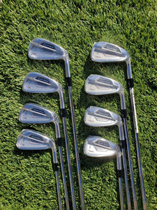 TaylorMade RSi 2 Iron Set 3-PW, 8 Piece, Steel Regular KBS Tour 105 Shafts, NEW!