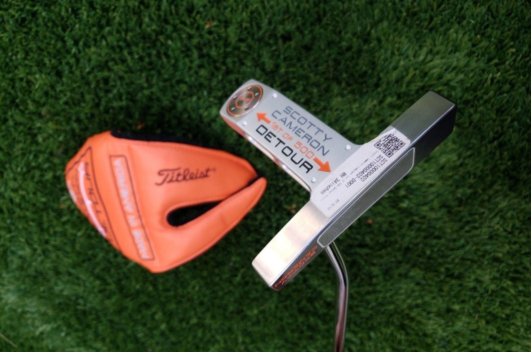 Scotty Cameron Detour 1st Run putter *BRAND NEW* 34