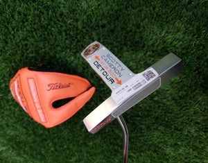 "Scotty Cameron Detour 1st Run putter *BRAND NEW* 34"" + Matching Head Cover! Rare"