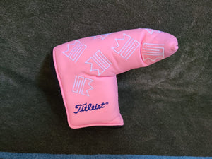 Scotty Cameron 2004 Dancing Custom Shop Pink Putter Headcover, MINT!!!