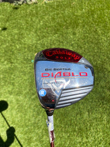 Callaway Big Bertha Diablo 15*N Fairway Wood, LH,Callaway Regular Graphite Shaft
