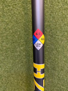 Project X HZRDUS Smoke Yellow 6.5 Extra Stiff 60g UnCut Driver Shaft- New