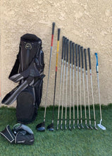 Complete Golf Set, TaylorMade Woods , TaylorMade Putter , Nike 8 Way Stand Bag in Great Condition!
