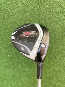 Callaway X2 Hot 19* 5 Wood, RH, Aldila W Ladies Graphite Shaft, Fair Condition
