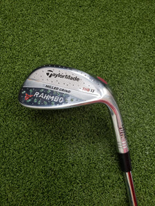 TaylorMade Milled Grind RAHMBO 58* Wedge,RH,KBS $-Taper X-Stiff Steel Shaft-MINT