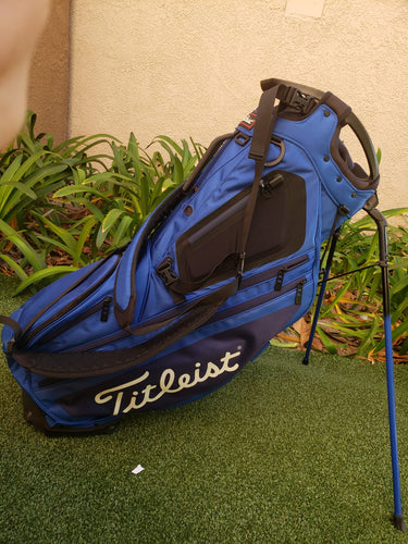 Titleist Golf Hybrid 14 Stand Bag, Royal / Navy-14 Way Top- Great Condition!