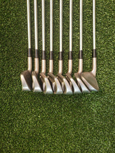 MIZUNO T-ZOID MX-11 3-PW Iron Set, RH,True Temper Dynamic Gold S300 Stiff Steel Shafts, Very Good!
