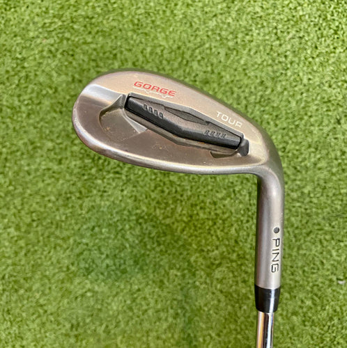 Ping George Tour TS Black Dot 58* Wedge, RH, Ping CFS Wedge Flex Steel Shaft- Good Condition
