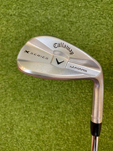 Callaway X Series Jaws 52* Forged Wedge, RH, Rifle Flighted Precision FCM 6.5 Extra Stiff Steel Shaft- Good Condition