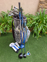 Ping Stiff Complete Golf Set +Bag, G5 Driver & Wood, G2 Irons, G5i Putter, Great!