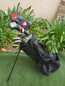 TaylorMade Regular Flex Complete Golf Set +Bag,M5 Driver,M4 Wood,M2 Irons, Balboa Putter,Lob Wedge, Great Condition!