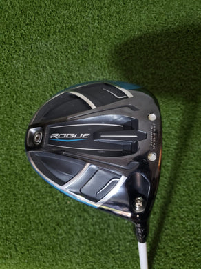 Callaway Rogue 9.0* Driver, RH, Aldila Rogue 110 MSI Regular Graphite Shaft-Good!
