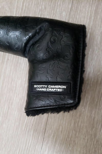 Scotty Cameron Gallery Milled Putters Graffiti Black Leather Blade Headcover