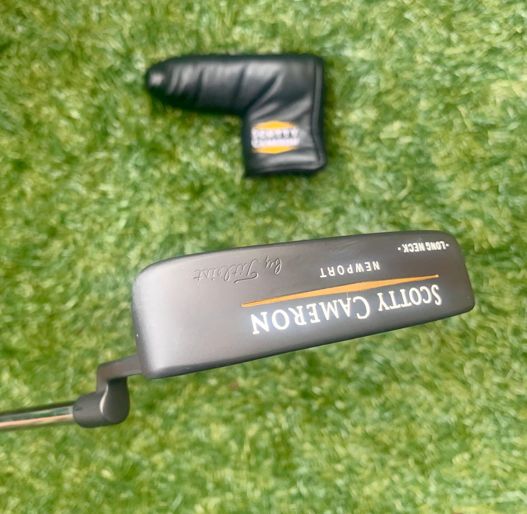 "Scotty Cameron Newport Tel3 Long Neck Putter, RH, 35"" With H/C... REFINISHED!!!"
