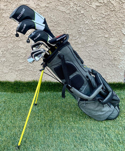 Complete Golf Set, Callaway Woods, Callaway Irons, Odyssey Putter, Callaway 4 Way Stand Bag..In Good Condition!!!!